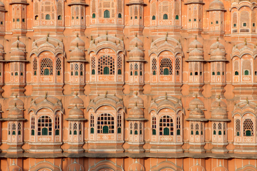 Fretwork「Detail of the Palace of Winds in Jaipur」:スマホ壁紙(11)