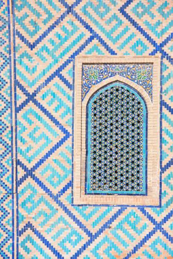 Iranian Culture「Detail of The Registan, Samarkand」:スマホ壁紙(19)