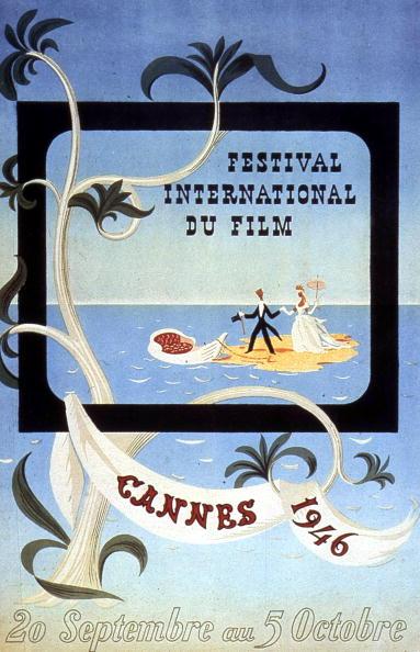 International Cannes Film Festival「Poster by Leblanc for International Film Festival in Cannes in 1946」:写真・画像(5)[壁紙.com]