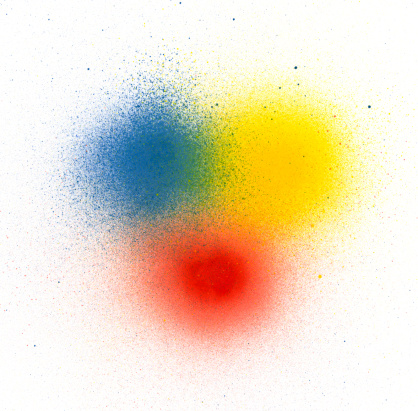 Spraying「Primary Colors Spray Paint」:スマホ壁紙(9)