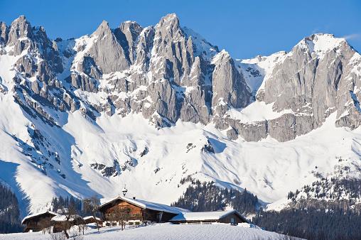 Wilder Kaiser「Wilder Kaiser mountain, Tirol」:スマホ壁紙(2)