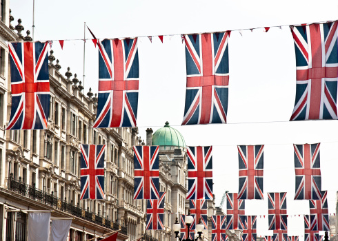 Oxford Street - London「london architecture: preparation for queen's diamond jubilee」:スマホ壁紙(9)