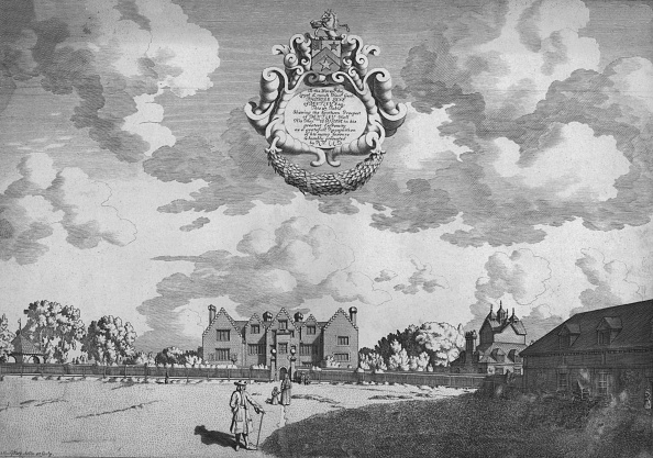Elizabethan Style「Bentley Hall Southern Prospect」:写真・画像(4)[壁紙.com]