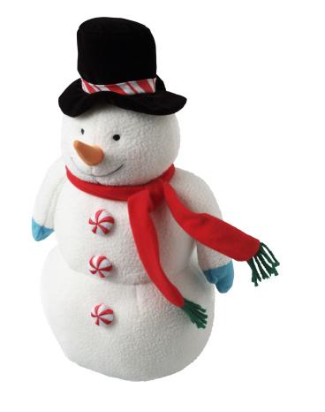 雪だるま「Plush snowman」:スマホ壁紙(5)