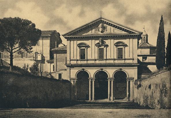 バシリカ「Roma - Basilica Of S Sebastian On The Appian Way 1910」:写真・画像(6)[壁紙.com]