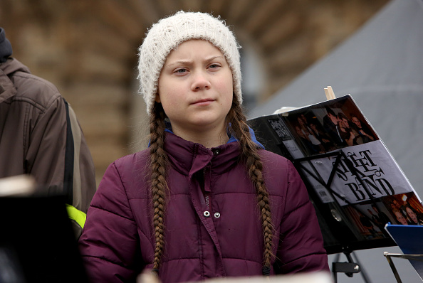 Hamburg - Germany「Greta Thunberg Joins Hamburg Climate Protest」:写真・画像(16)[壁紙.com]