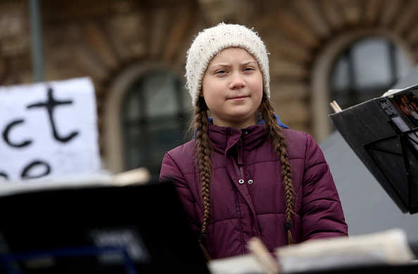 Greta Thunberg「Greta Thunberg Joins Hamburg Climate Protest」:写真・画像(18)[壁紙.com]