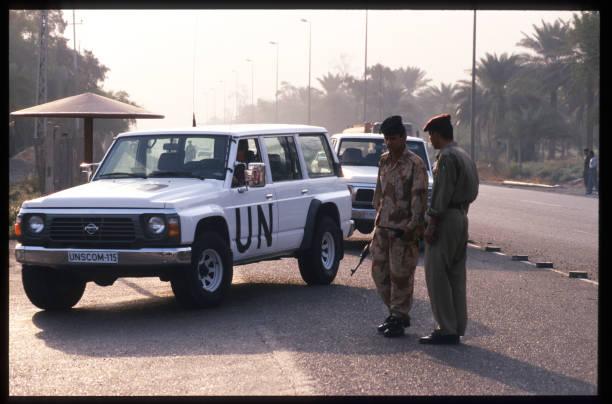 Weapons Inspectors Leave Iraq:ニュース(壁紙.com)