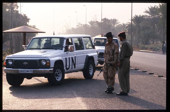 Beret「Weapons Inspectors Leave Iraq」:写真・画像(8)[壁紙.com]