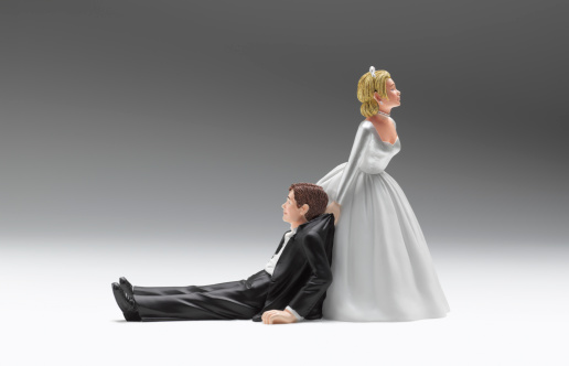 Female Likeness「Wedding figurines relationship difficulties」:スマホ壁紙(10)