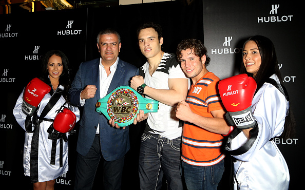 Julio Cesar Chavez Jr「HUBLOT And Floyd Mayweather Jr.: The Perfect Combination For The Fight Of The Century」:写真・画像(5)[壁紙.com]
