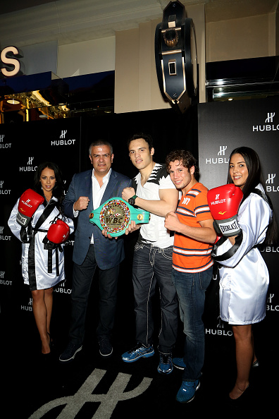 Julio Cesar Chavez Jr「HUBLOT And Floyd Mayweather Jr.: The Perfect Combination For The Fight Of The Century」:写真・画像(3)[壁紙.com]