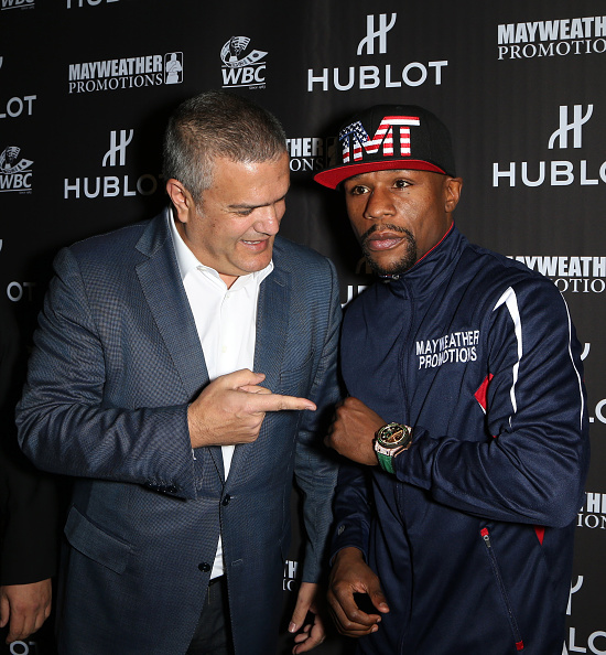 WBC「HUBLOT And Floyd Mayweather Jr.: The Perfect Combination For The Fight Of The Century」:写真・画像(14)[壁紙.com]