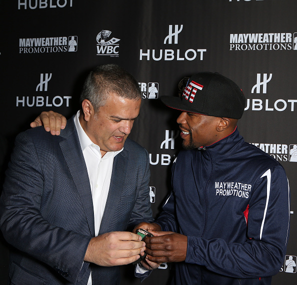 WBC「HUBLOT And Floyd Mayweather Jr.: The Perfect Combination For The Fight Of The Century」:写真・画像(17)[壁紙.com]