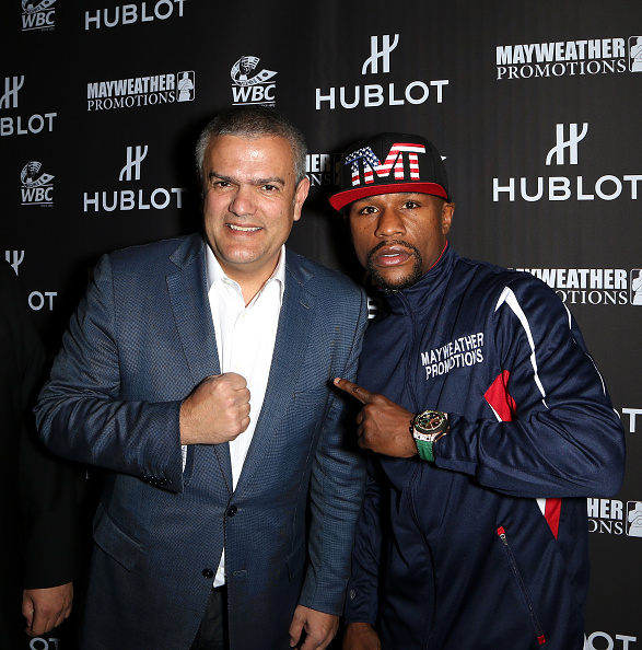 WBC「HUBLOT And Floyd Mayweather Jr.: The Perfect Combination For The Fight Of The Century」:写真・画像(3)[壁紙.com]