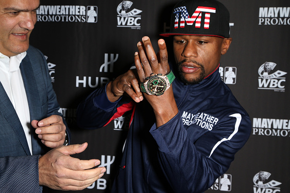 WBC「HUBLOT And Floyd Mayweather Jr.: The Perfect Combination For The Fight Of The Century」:写真・画像(13)[壁紙.com]