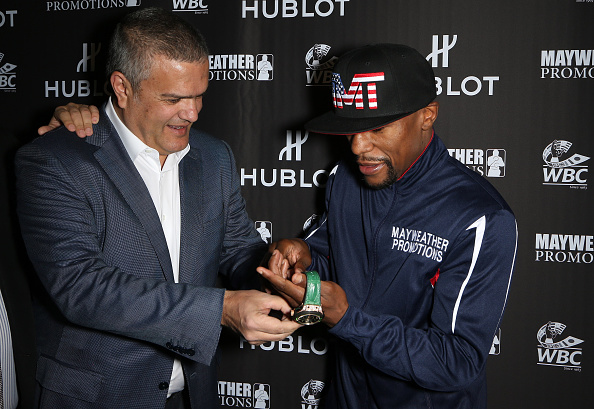 WBC「HUBLOT And Floyd Mayweather Jr.: The Perfect Combination For The Fight Of The Century」:写真・画像(12)[壁紙.com]