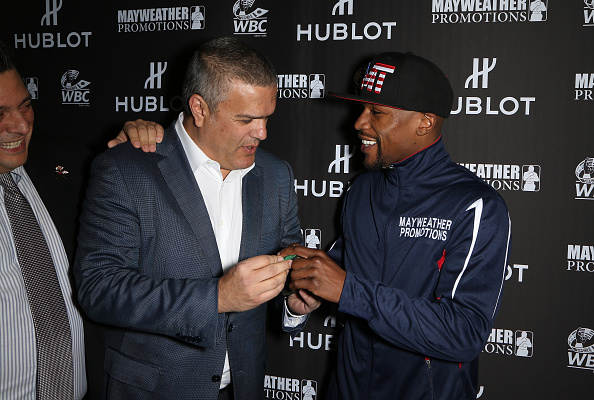 WBC「HUBLOT And Floyd Mayweather Jr.: The Perfect Combination For The Fight Of The Century」:写真・画像(11)[壁紙.com]