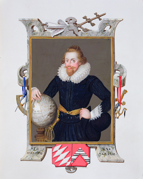 Elizabethan Style「Sir Walter Raleigh English Writer Poet Courtier Adventurer And Explorer (1825)」:写真・画像(10)[壁紙.com]