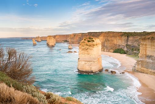 Western Australia「The Twelve Apostles at sunrise, Great Ocean Road, Victoria, Australia」:スマホ壁紙(18)