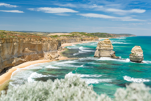 Limestone「The Twelve Apostles, Great Ocean Road, Victoria, Australia」:スマホ壁紙(9)