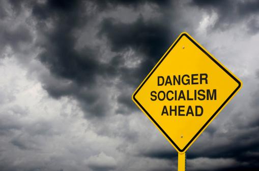 Thunderstorm「Socialism Road Sign」:スマホ壁紙(13)