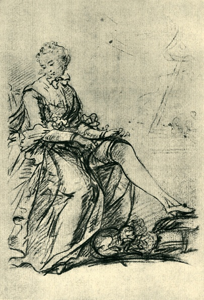 Limb - Body Part「Woman Putting On Her Stockings」:写真・画像(6)[壁紙.com]