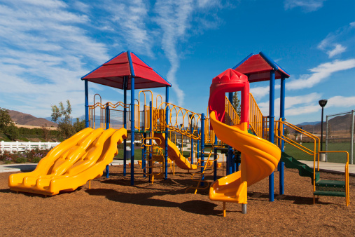 公園「色鮮やかなプレイグラウンド」:スマホ壁紙(16)