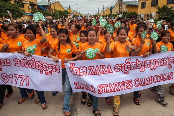 Garment「Garment Workers Gather In Protest Against Low Wages」:写真・画像(0)[壁紙.com]