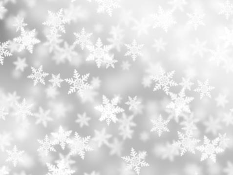 雪の結晶「ふわふわの結晶」:スマホ壁紙(15)