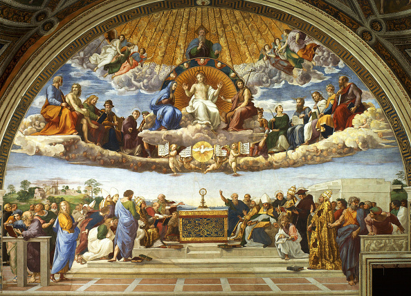 Vatican「Disputation Of The Holy Sacrament (La Disputa Del Sacramento)」:写真・画像(15)[壁紙.com]
