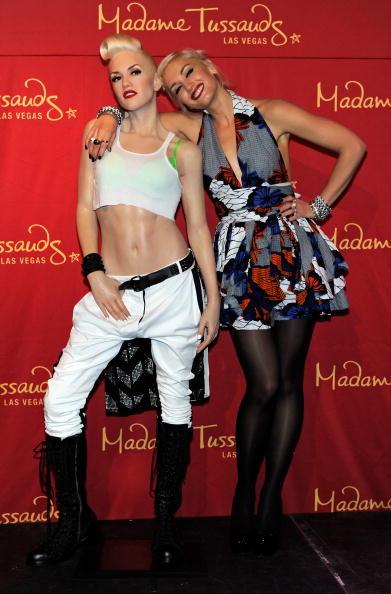 Stockings「Gwen Stefani Wax Figure Unveiled At Madame Tussauds Las Vegas」:写真・画像(1)[壁紙.com]