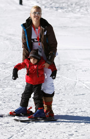 スキー「Juma Entertainment's 'Deer Valley Celebrity Skifest' Day 2」:写真・画像(5)[壁紙.com]