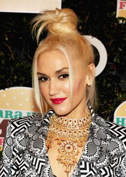 Necklace「Gwen Stefani Celebrates Launch Of Her Harajuku Mini For Target Collection At Target-Sponsored Party」:写真・画像(14)[壁紙.com]