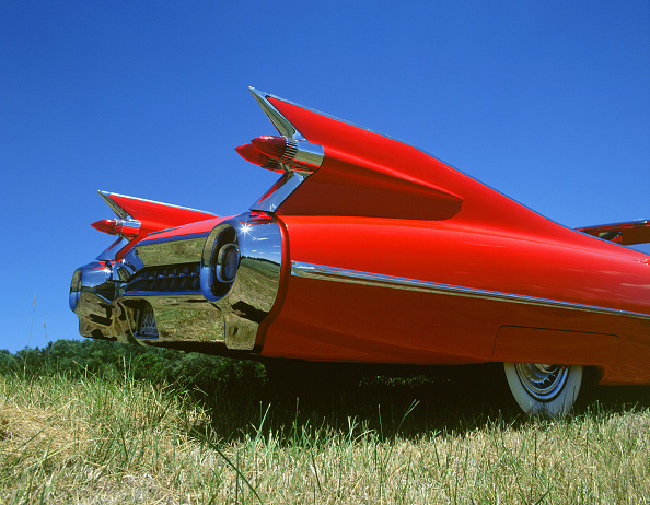 Grass「1959 Cadillac series 62 tail fins」:写真・画像(1)[壁紙.com]