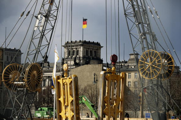 Construction Site「Berlin Reichstag」:写真・画像(17)[壁紙.com]