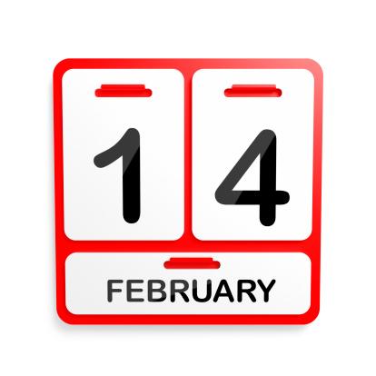 Annual Event「Metal Calendar - 14 February Red」:スマホ壁紙(14)