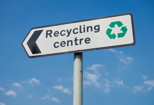 Recycling Symbol「Recycling Centre Sign」:スマホ壁紙(17)