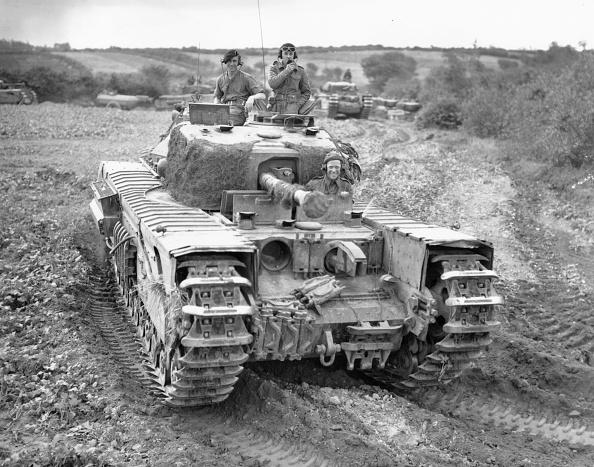 Armored Tank「Churchill Mark VII Crocodile」:写真・画像(15)[壁紙.com]