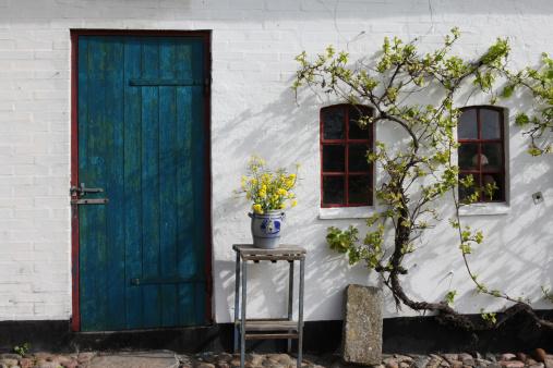 Denmark「Old traditional  farmhouse in Southern Jutland, Denmark.」:スマホ壁紙(1)
