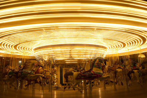 Multiple Exposure「Old-fashioned Carousel or Merry-Go-Round」:スマホ壁紙(5)