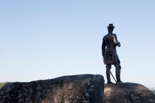 Battle「Statue of General Warren, Gettysburg」:スマホ壁紙(3)