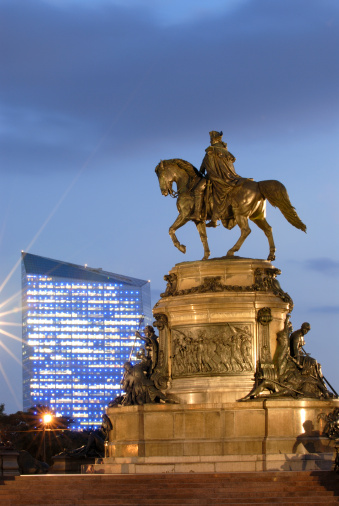 Philadelphia - Pennsylvania「Statue of George Washington」:スマホ壁紙(18)