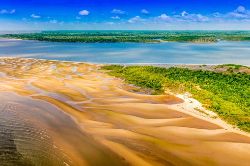 Amazon Rainforest「Sand bank in the Amazon」:スマホ壁紙(6)