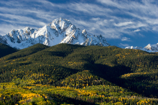 Aspen Tree「Colorado Snow Capped Peak」:スマホ壁紙(1)