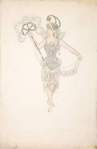 Basil「Costume Design For Lady With A Fan」:写真・画像(17)[壁紙.com]