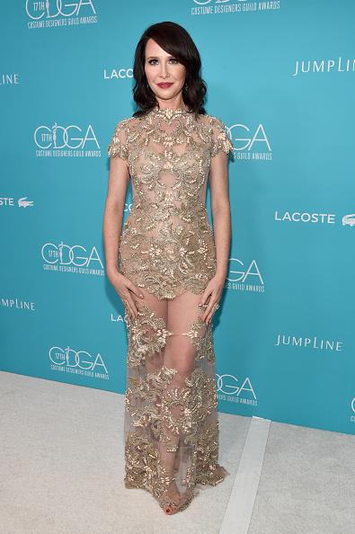 Cream Colored「17th Costume Designers Guild Awards With Presenting Sponsor Lacoste - Red Carpet」:写真・画像(12)[壁紙.com]