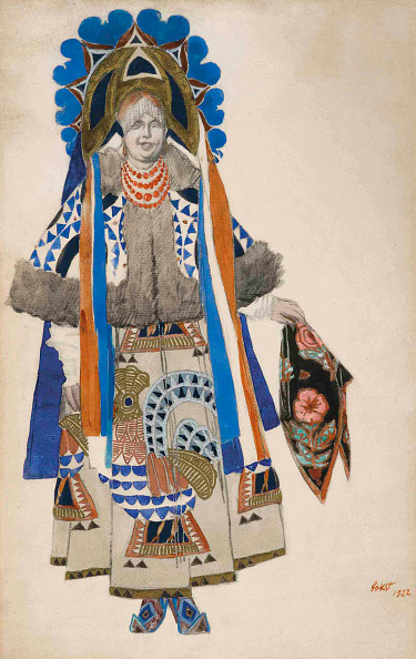 Tradition「Costume Design For The Vaudeville Old Moscow At The Théâtre Femina In Paris」:写真・画像(15)[壁紙.com]