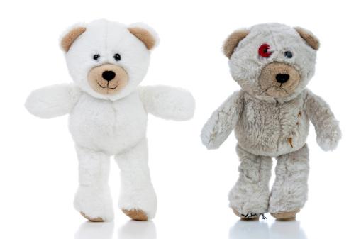 Bear「Happy and Sad Bears」:スマホ壁紙(11)