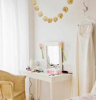 Dressing Table「Bride's room before the wedding 」:スマホ壁紙(2)
